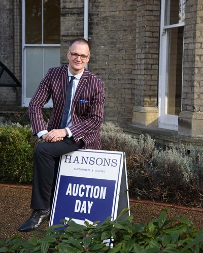 Charles Hanson outside Hansons London at the Normansfield Theatre