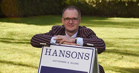 Charles Hanson at Hansons London